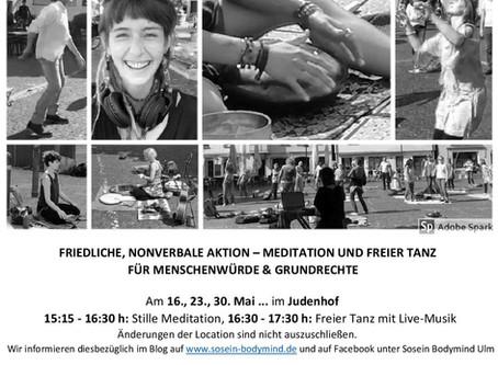 Friedliche Bewegung in Ulm - Diesen Samstag im Judenhof! Mit Live-Musik!