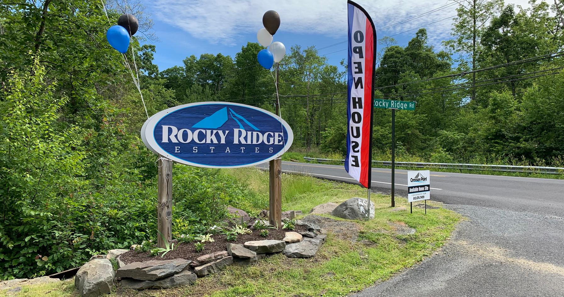 Rocky Ridge Entrance