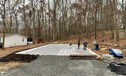 Insulated Concrete Slab Foundation