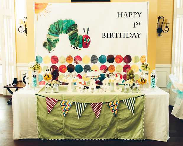 Event and Creators Maryland DC Virginia Hungry Caterpillar Green Themed Birthday Event Ellicott City