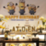 Event and Creators Maryland DC Virginia Minion Yellow Themed Birthday Event Ellicott City