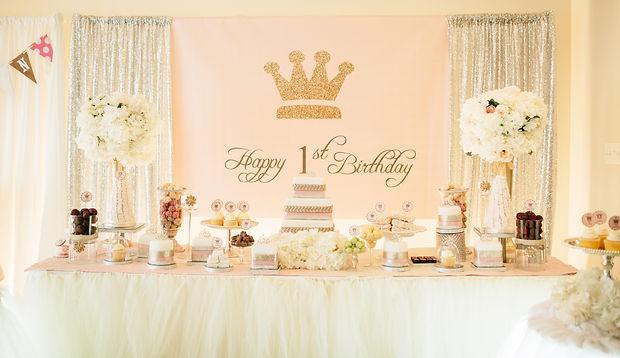 Event and Creators Maryland DC Virginia Tiara Pink Themed Birthday Event Ellicott City
