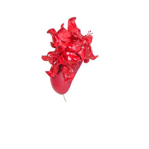 The Hibiscus (raspberry red)