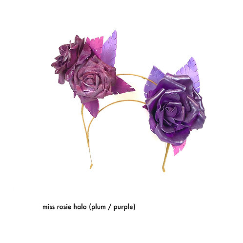 Miss Rosie Halo (plum / purple)