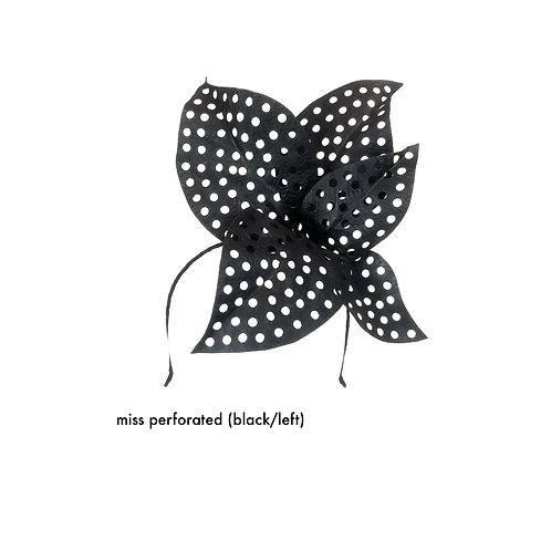 Miss Perforated (black / left)