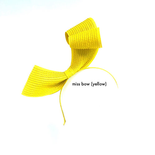 Miss Bow (yellow)