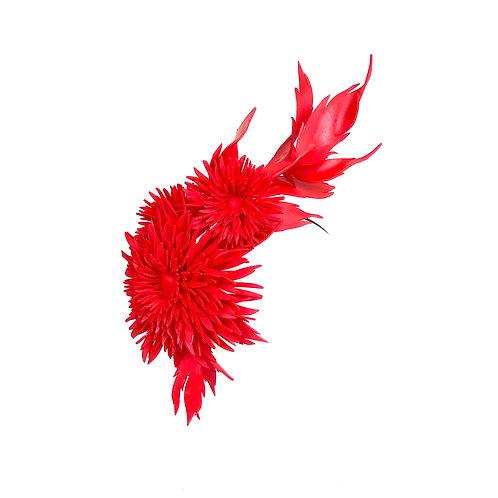 The Dahlia Garland (red)