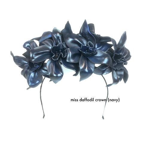 Miss Daffodil Crown (navy)