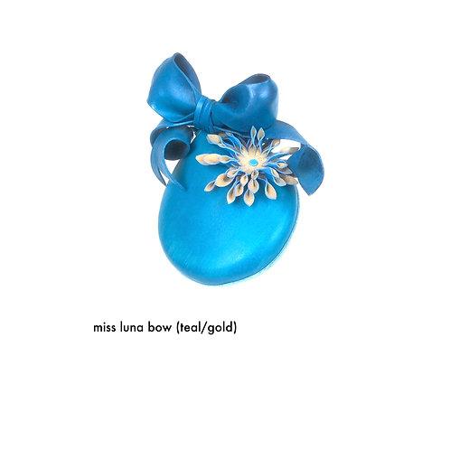 Miss Luna Bow (teal)