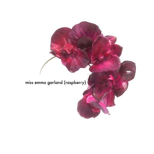 Miss Emma Orchid Garland (fuchsia)