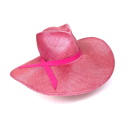 The Fedora (pink)