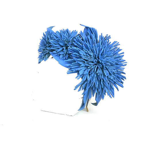 The Dahlia Crown (french blue)