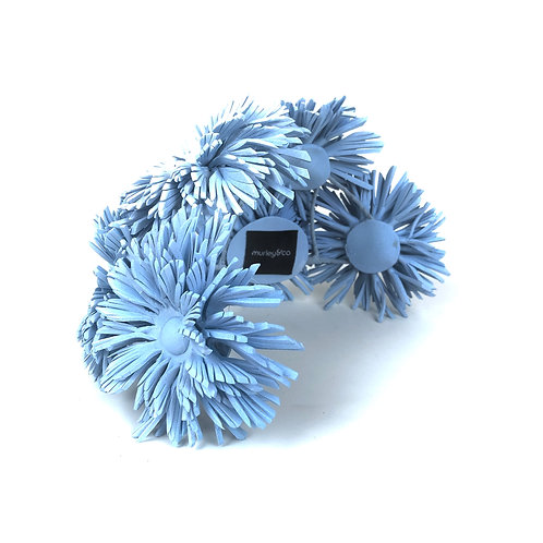 The Dahlia Ponytail Cage (powder blue)