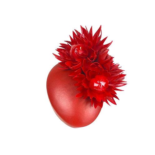 The Fleur Percher Cap (red)