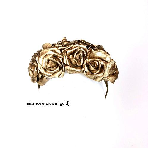 Miss Rosie Crown (gold)