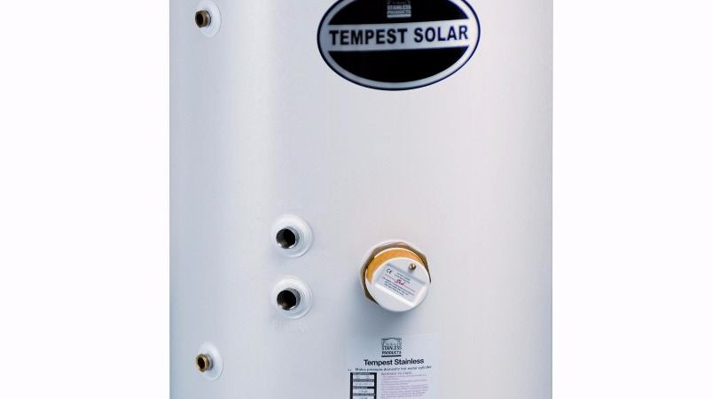 Cylinder 250L with Solar Thermal