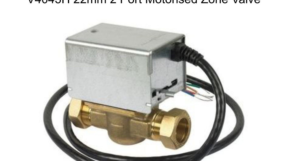 Honeywell 2 port valve 22mm