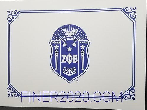 Shield Certificate Holder (Set of 20)