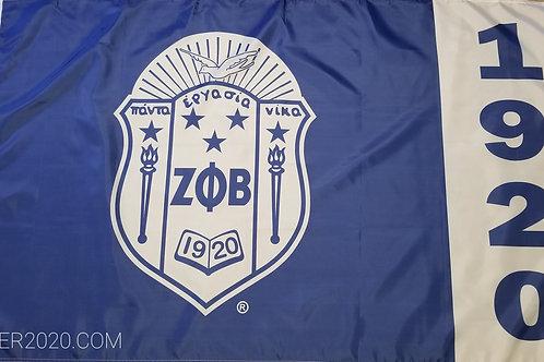 Blue Shield Flag