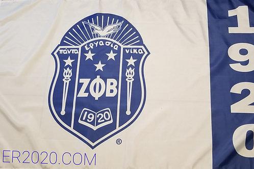 White Shield Flag