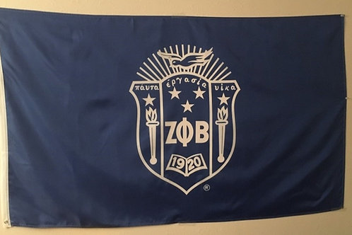 White Shield Banner