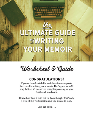 Ultimate Guide to Write Your Memoir work
