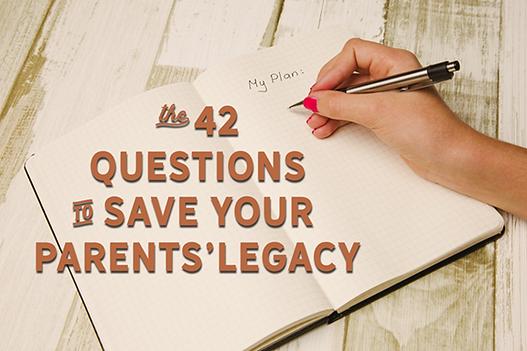 Save your parents' legacy