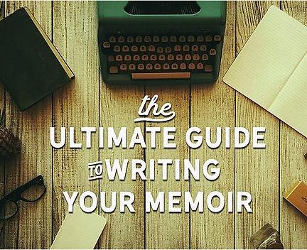 Ultimate Guide to Write Your Memoir smal