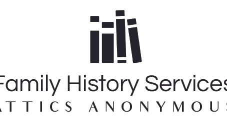 Attics Anonymous is my name, family history is my game