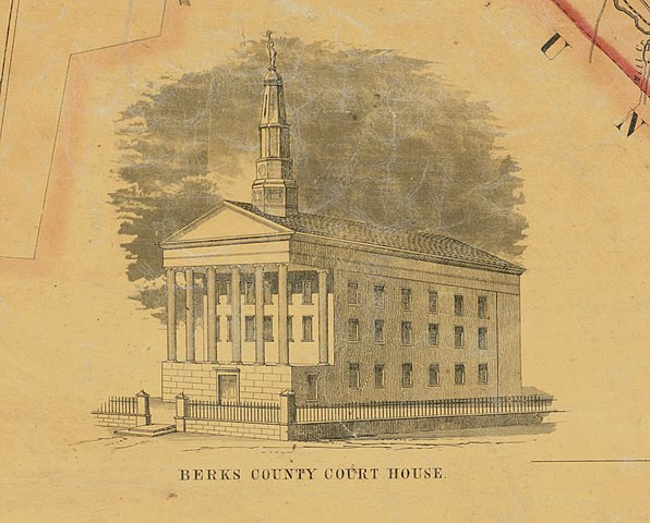 Researching PA ancestors in county courthouses.