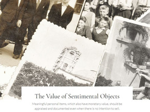The Value of Sentimental Objects