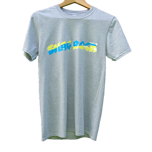 Shag Rock Logo T-Shirt Grey