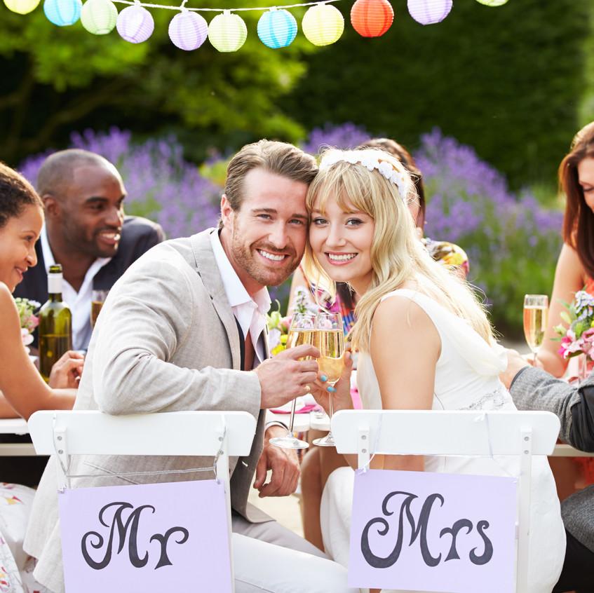 white wedding reception 10 - The Wedding Planner Denver