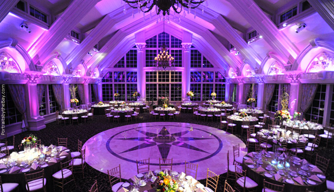 LED event space lighting