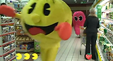 Pac-man parties, Virtual video game, company event, Jennifer Lane Events, party planner denver, event planner denver