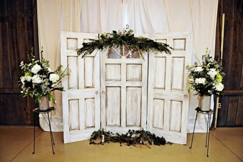 Wedding ceremony focal point