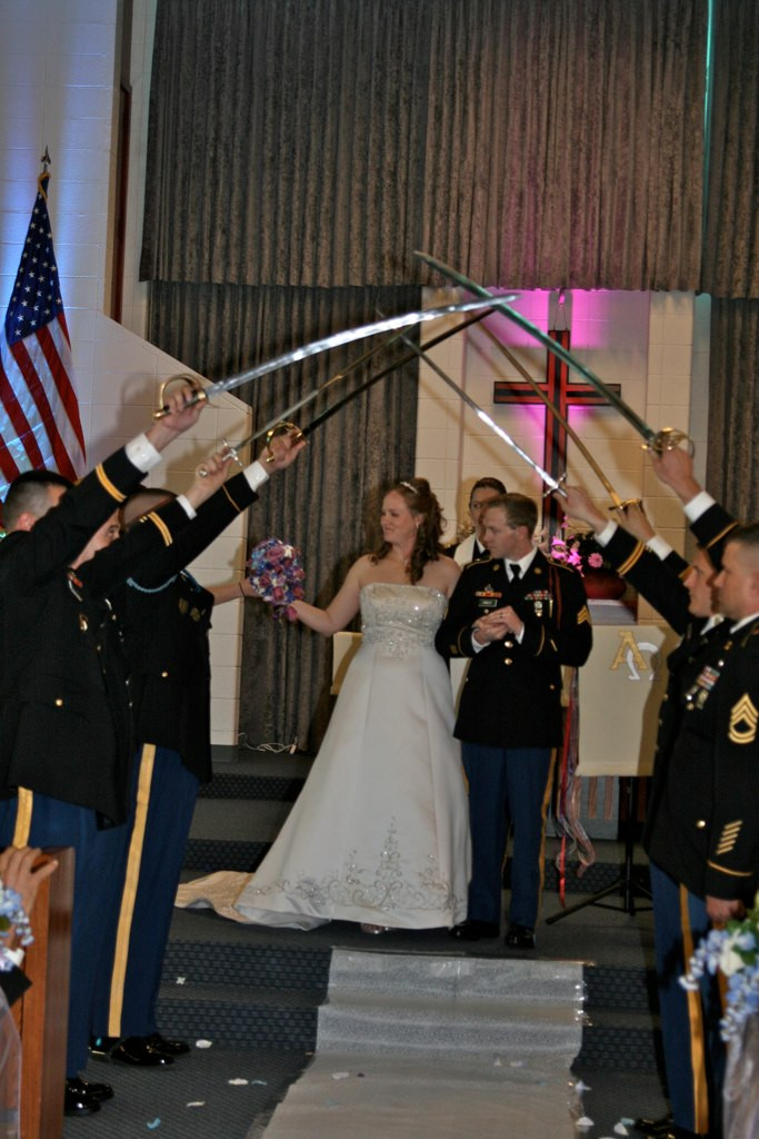 Military Colorado weddings with Jennifer Lane Events