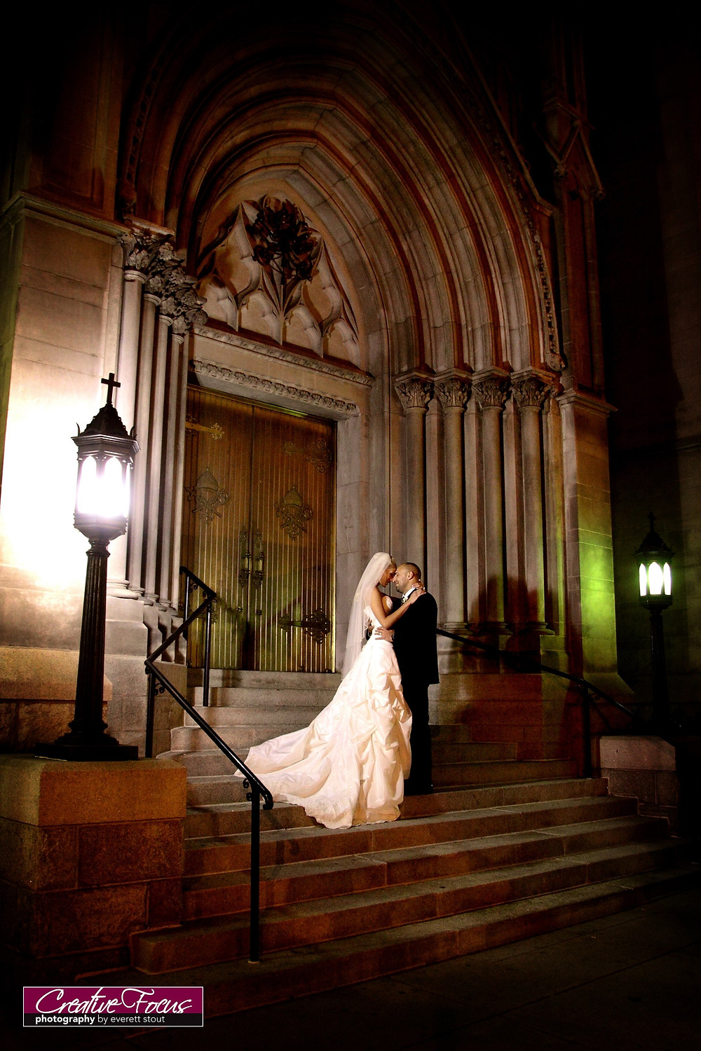 cathedral in downtown Denver - weddings Jennifer Lane Events
