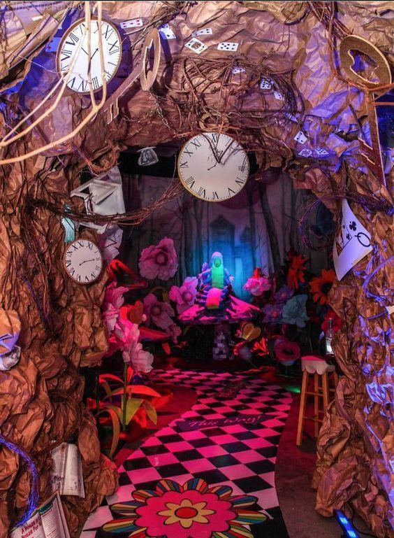 alice in wonderland theme events