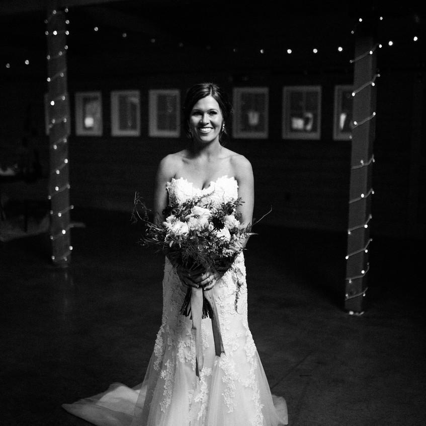 Country club weddings _ smiling brid