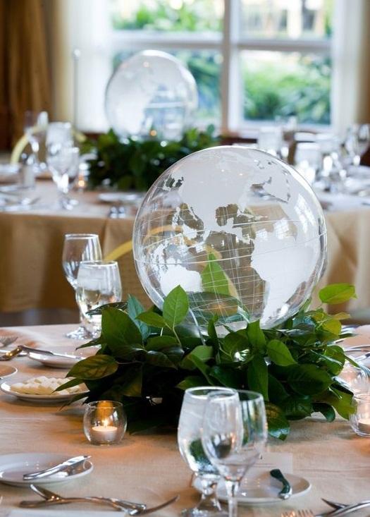 crystal balls - world globes