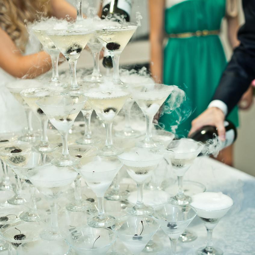 Gatsby champagne toast - Wedding-planner Denver
