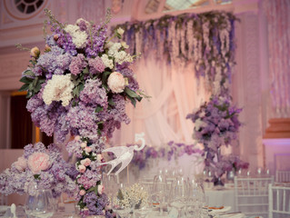 Elegant wedding decor, Denver
