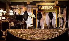 Gatsby party, corporate event decor, colorado event decor, party decor, prom decor,anniversary party decor