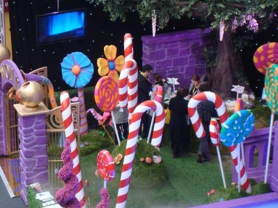 Candy Land themed prom, jennifer lane events, event decor divas