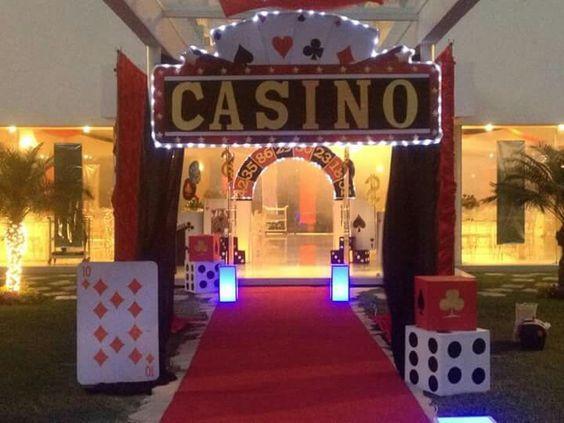 Casino theme event