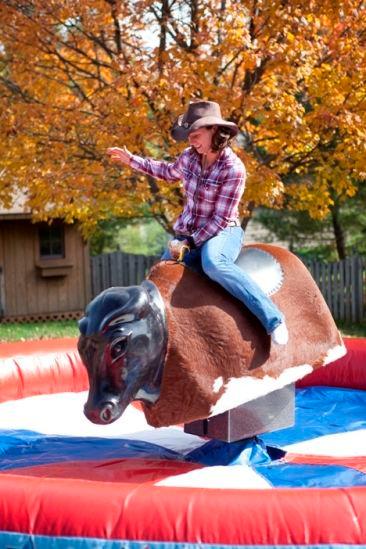 Bull riding, corporate event, Event Decor Divas, Jennifer Lane Events