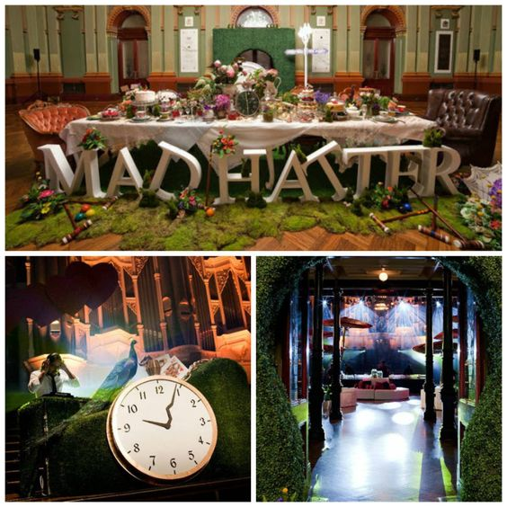 alice in wonderland themed events