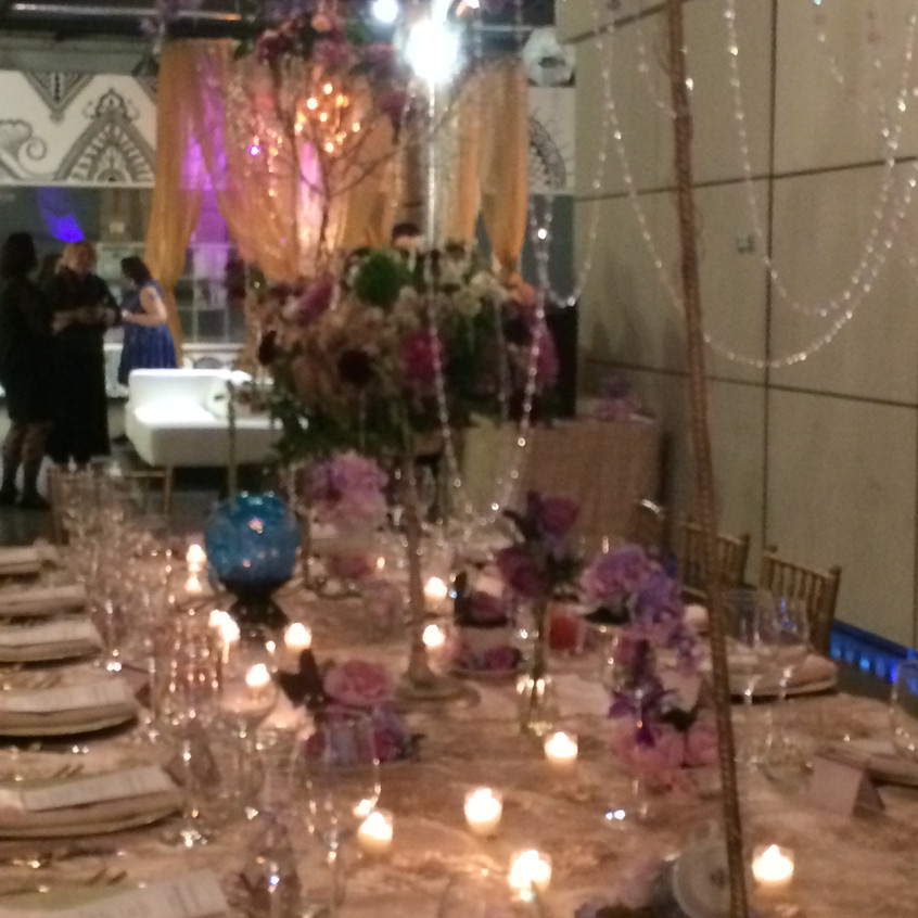 custom crystal, flowers, pink, gold