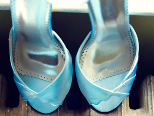 "Be sure you know how to incorporate that ""something blue"" into your wedding!"